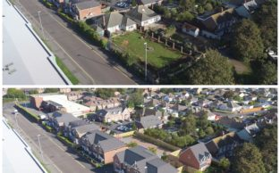 Aerial photo + GCI = marvellous marketing