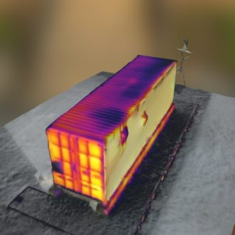3D Modelling with thermal imaging