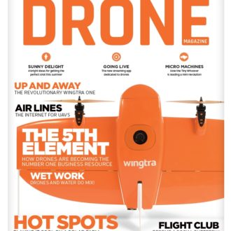 Drone Magazine Feature and Interview